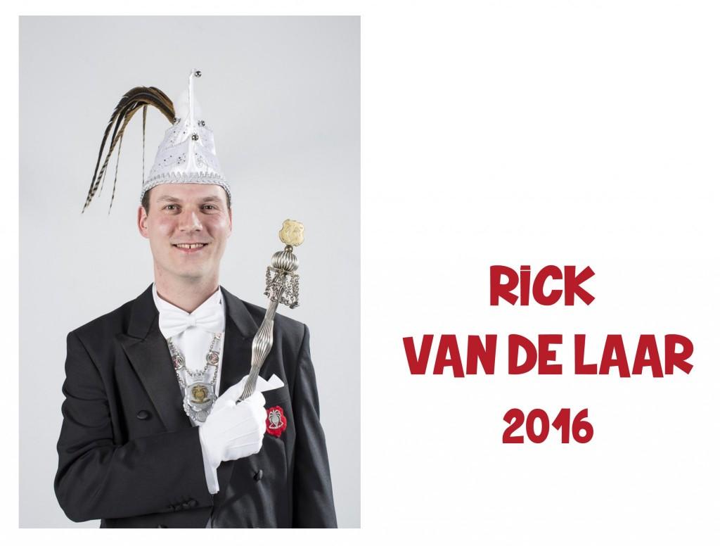 Rick van de Laar: 2016