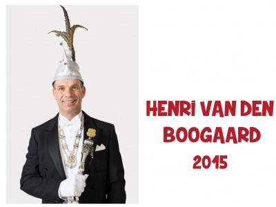 Henri van den Boogaard: 2015
