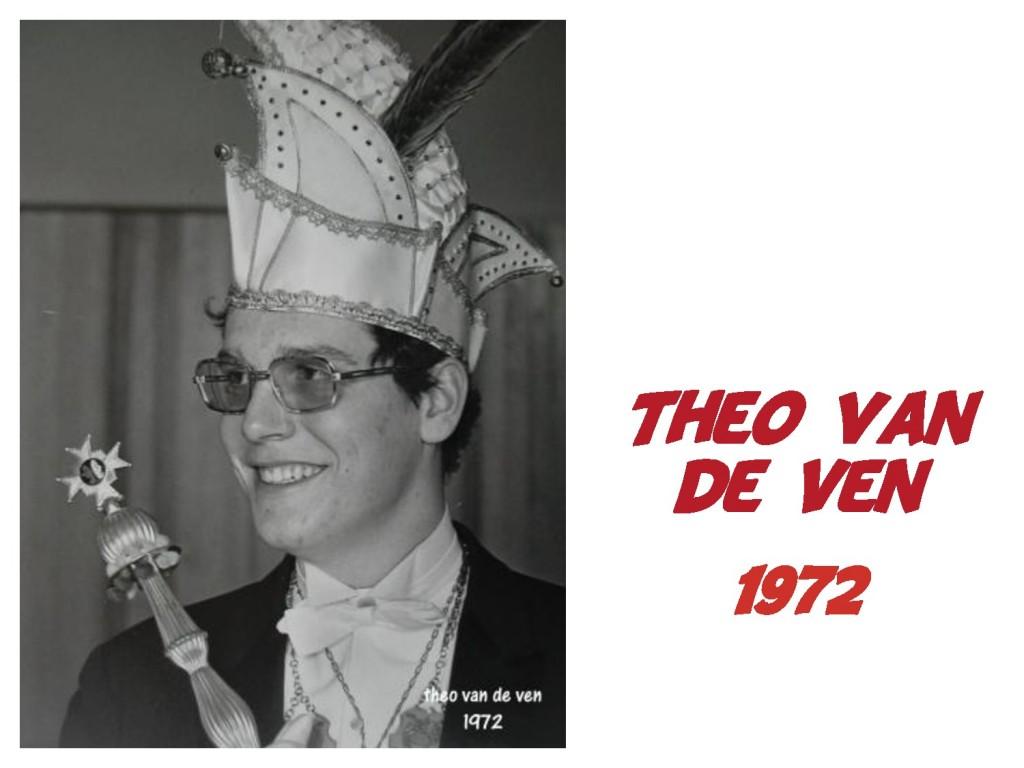 Theo van de Ven: 1972