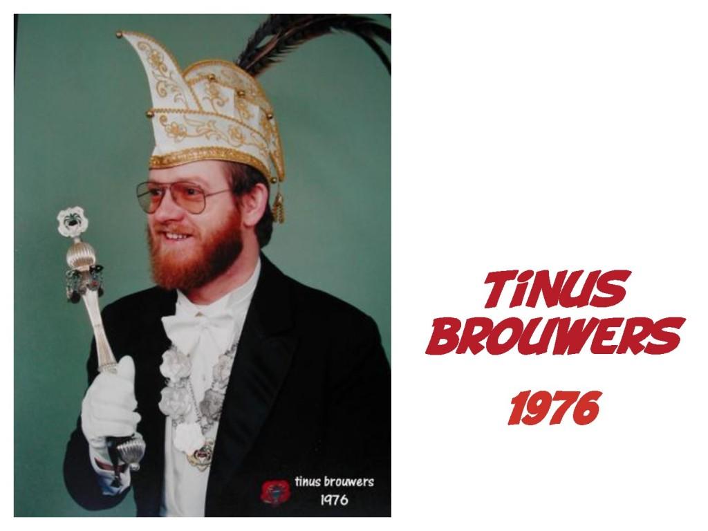 Tinus Brouwers: 1976
