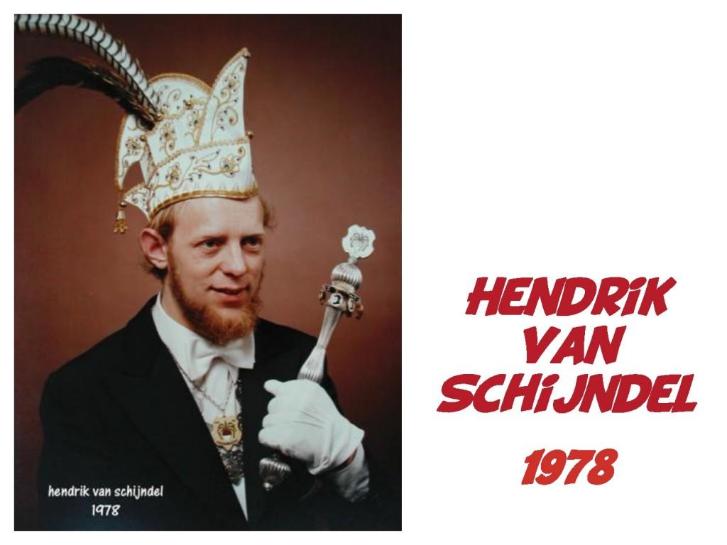 Hendrik van Schijndel: 1978