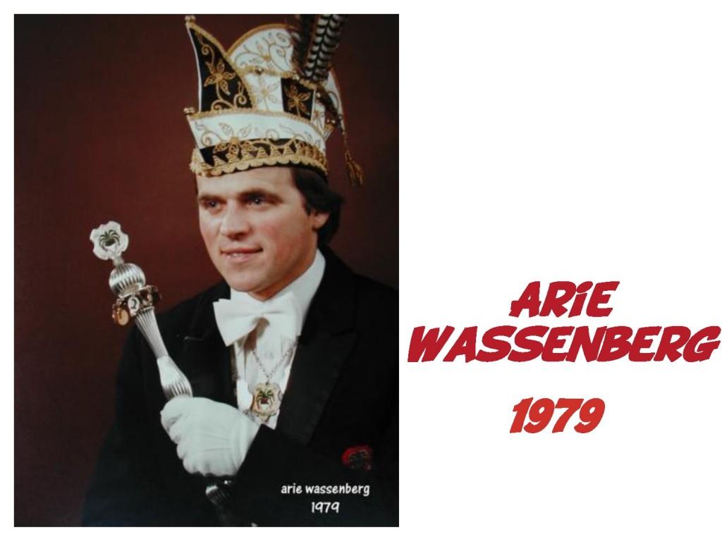 Arie Wassenberg: 1979