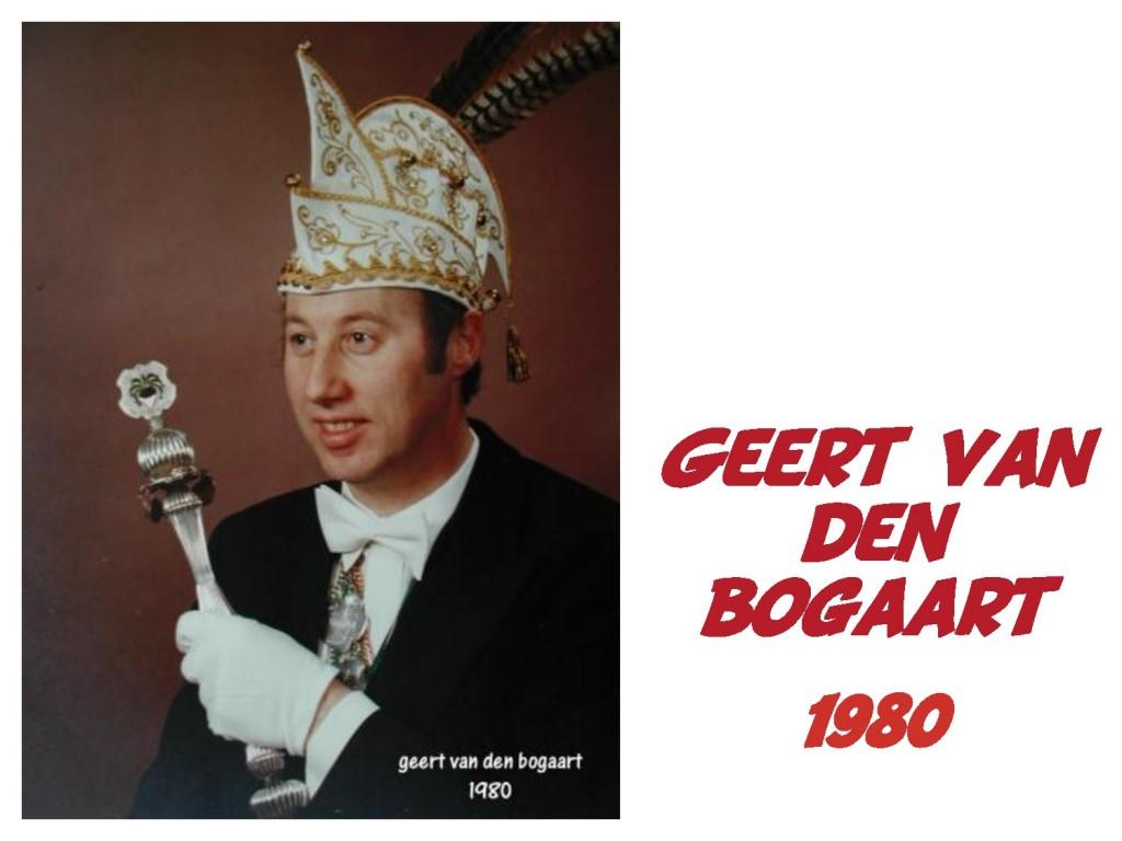 Geert van den Bogaart: 1980