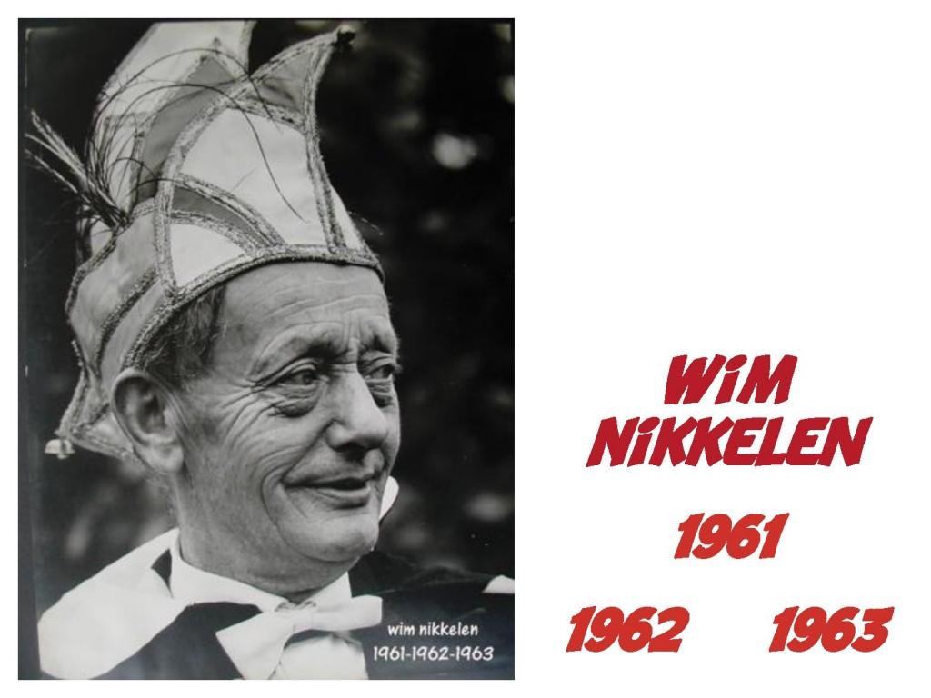 Wim Nikkelen: 1961/1962/1963