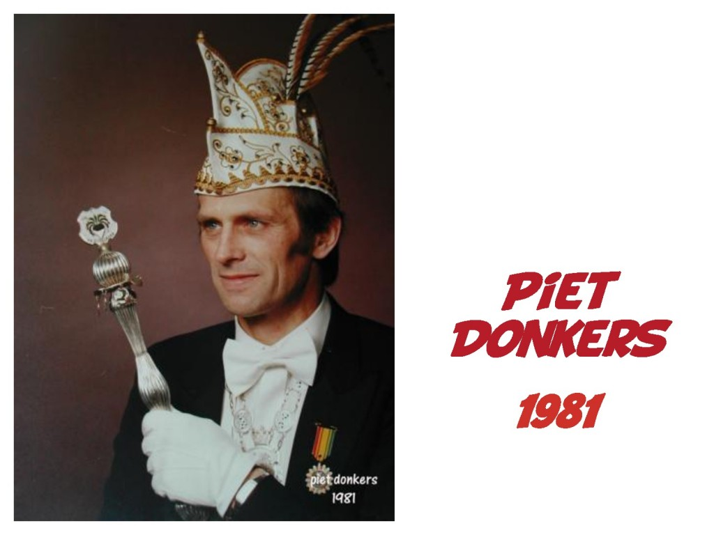 Piet Donkers: 1981
