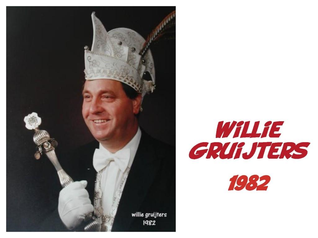 Willie Gruijters: 1982