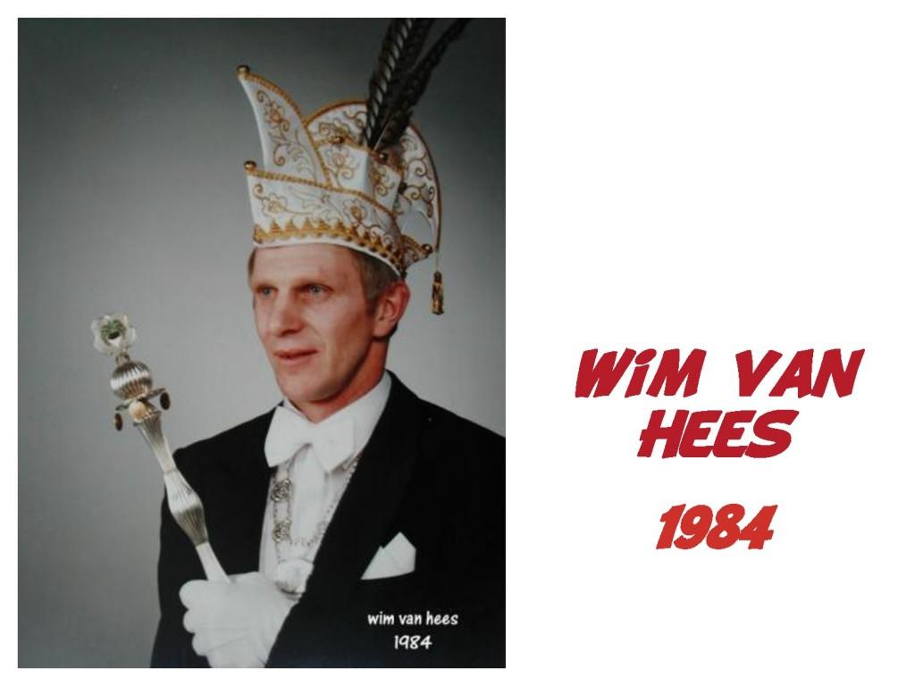 Wim van Hees: 1984