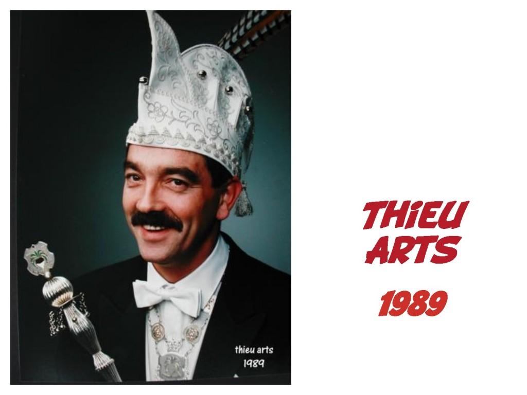 Thieu Arts: 1989