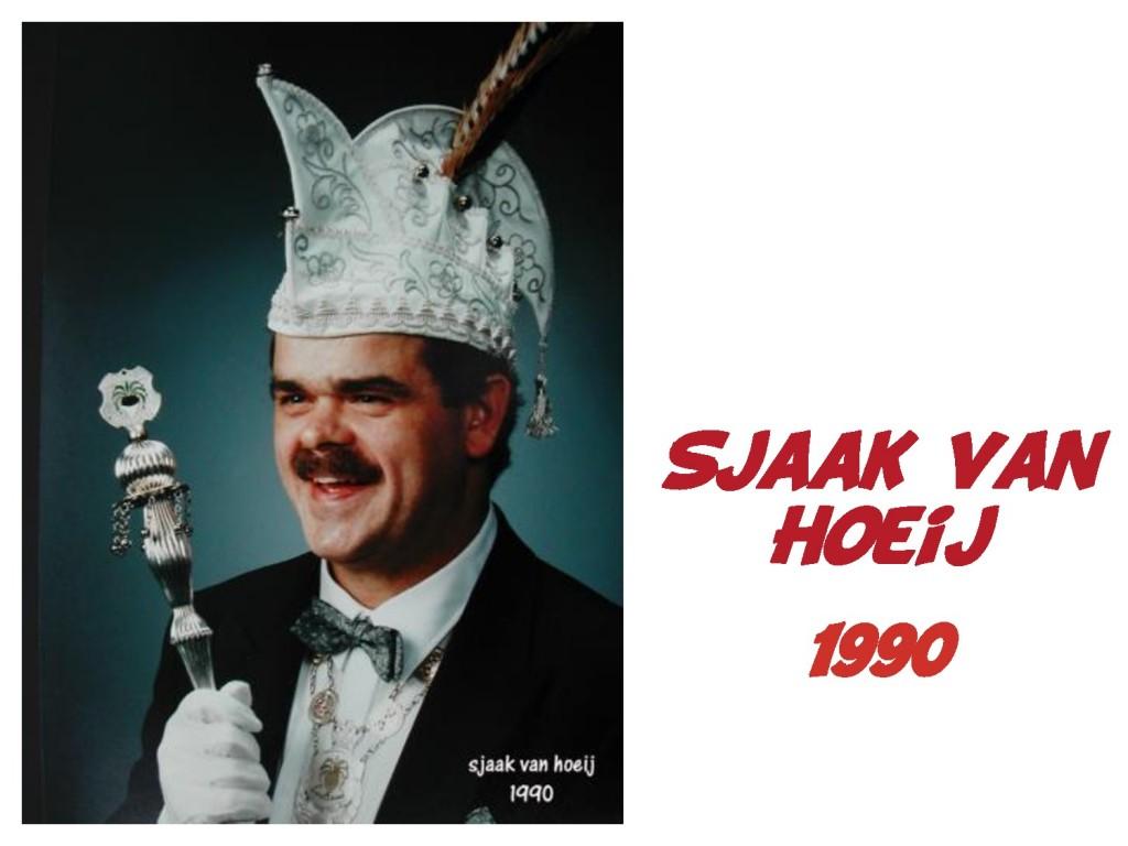 Sjaak van Hoeij: 1990
