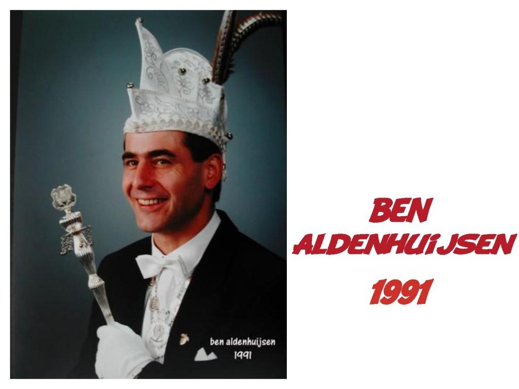 Ben Aldenhuijsen: 1991