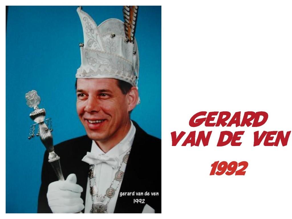 Gerard van de Ven: 1992