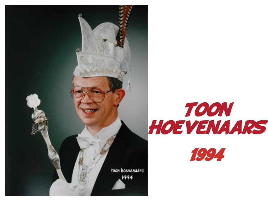 Toon Hoevenaars: 1994