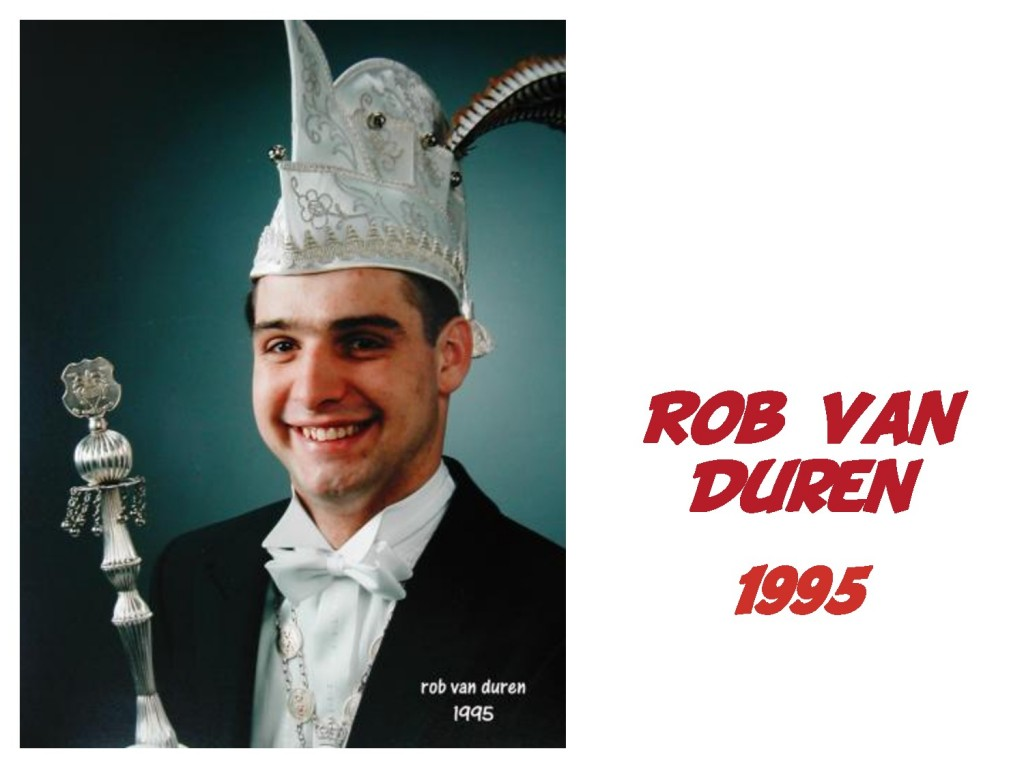 Rob van Duren: 1995