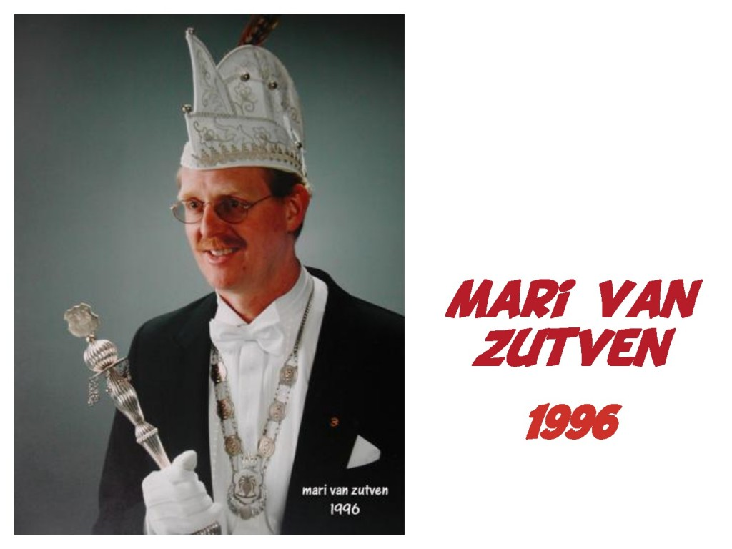 Mari van Zutven: 1996