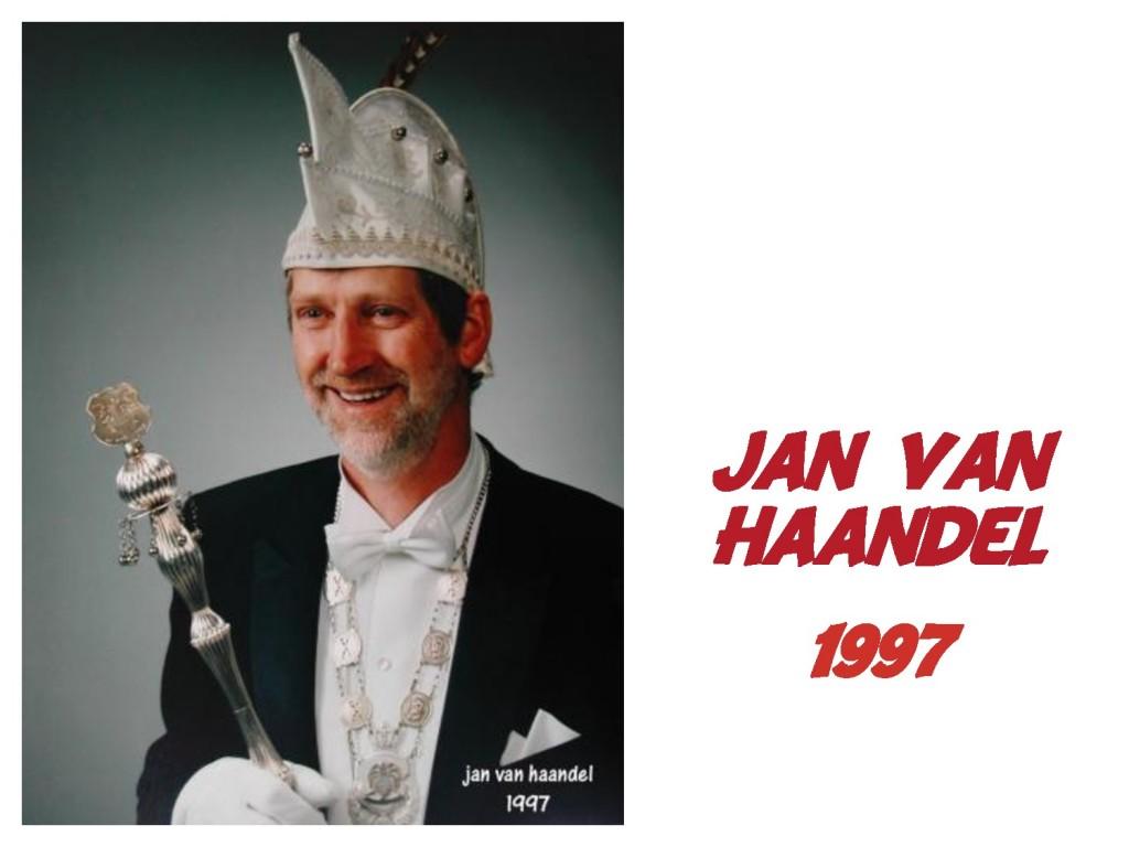 Jan van Haandel: 1997