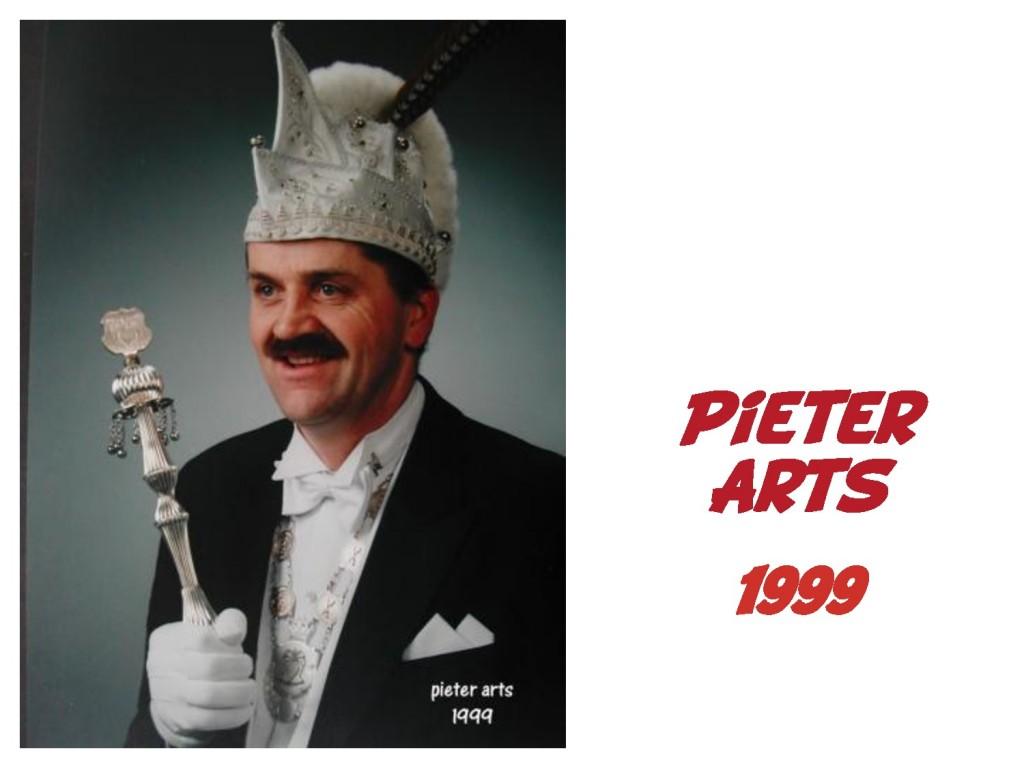 Pieter Arts: 1999