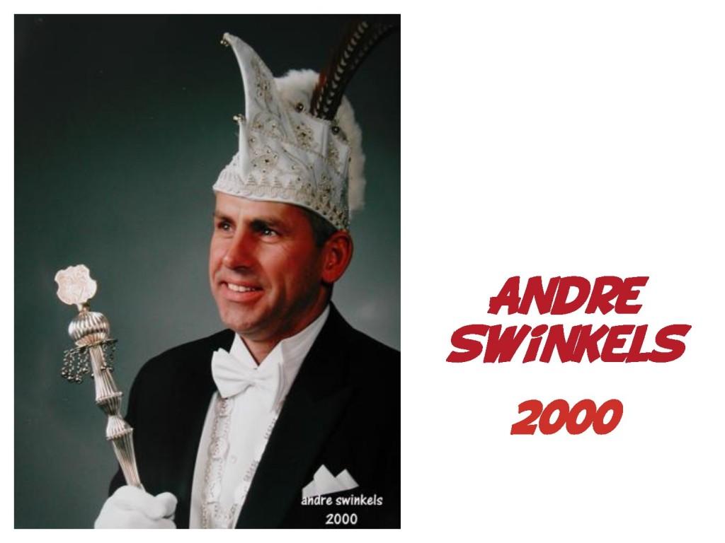 Andre Swinkels: 2000