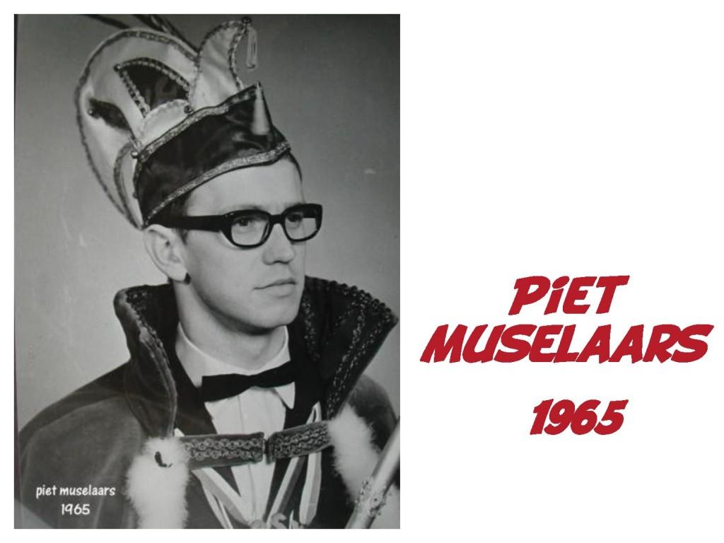 Piet Muselaars: 1965