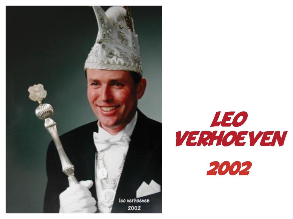 Leo Verhoeven: 2002