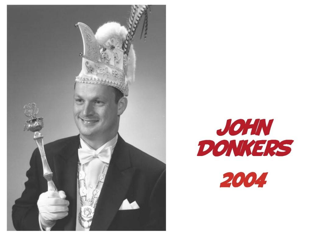 John Donkers: 2004