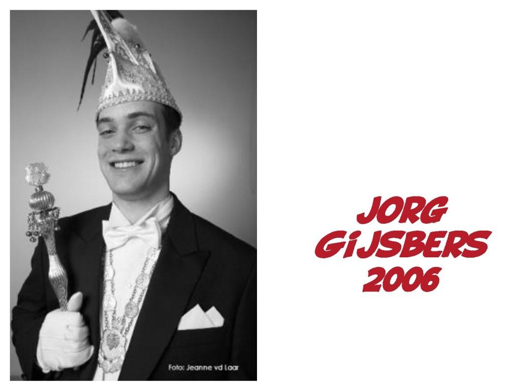 Jorg Gijsbers: 2006