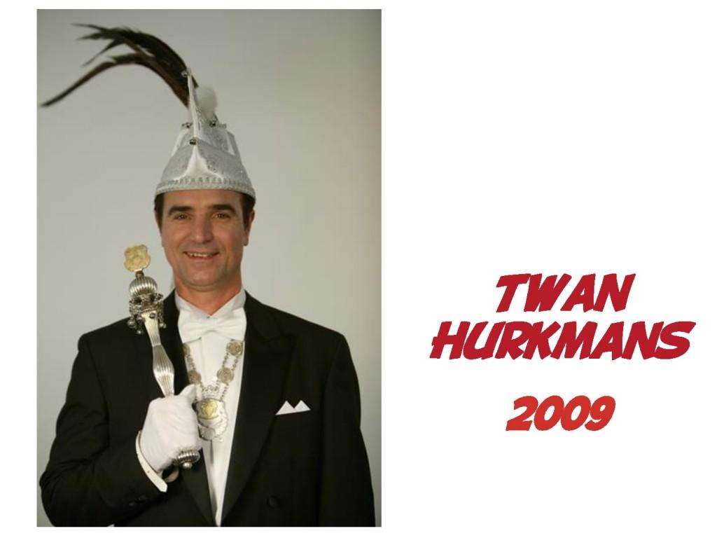 Twan Hurkmans: 2009