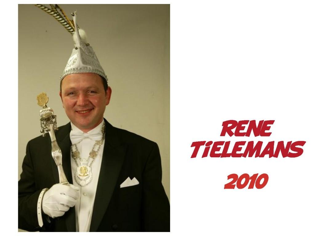 Rene Tielemans: 2010