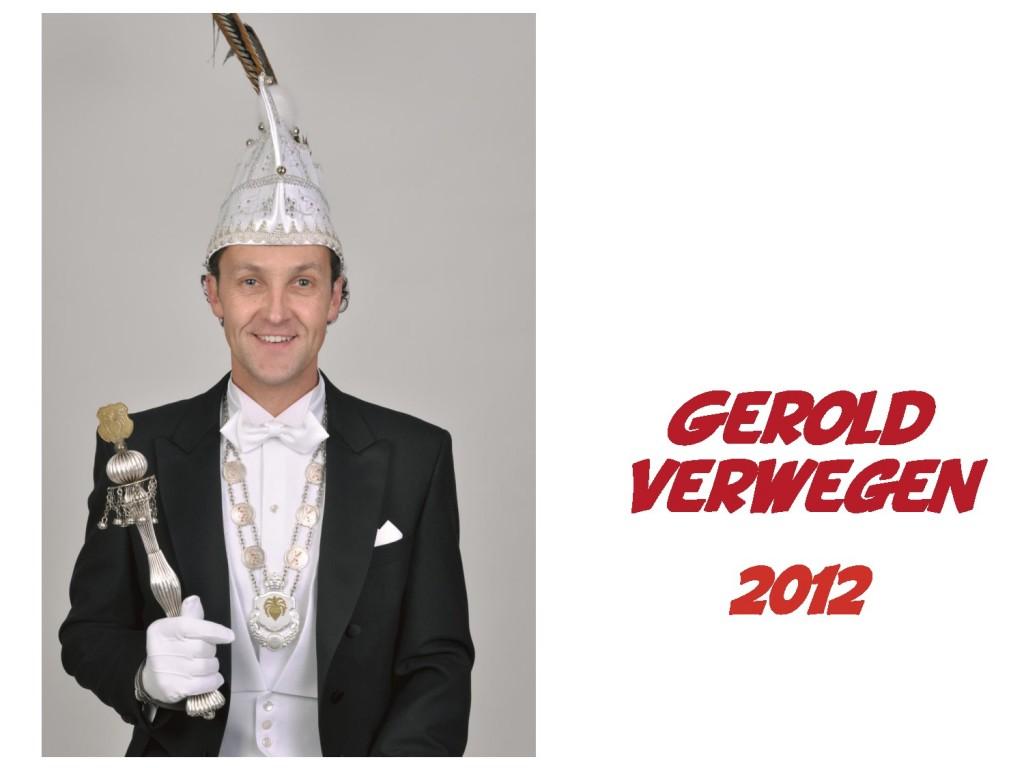 Gerold Verwegen: 2012