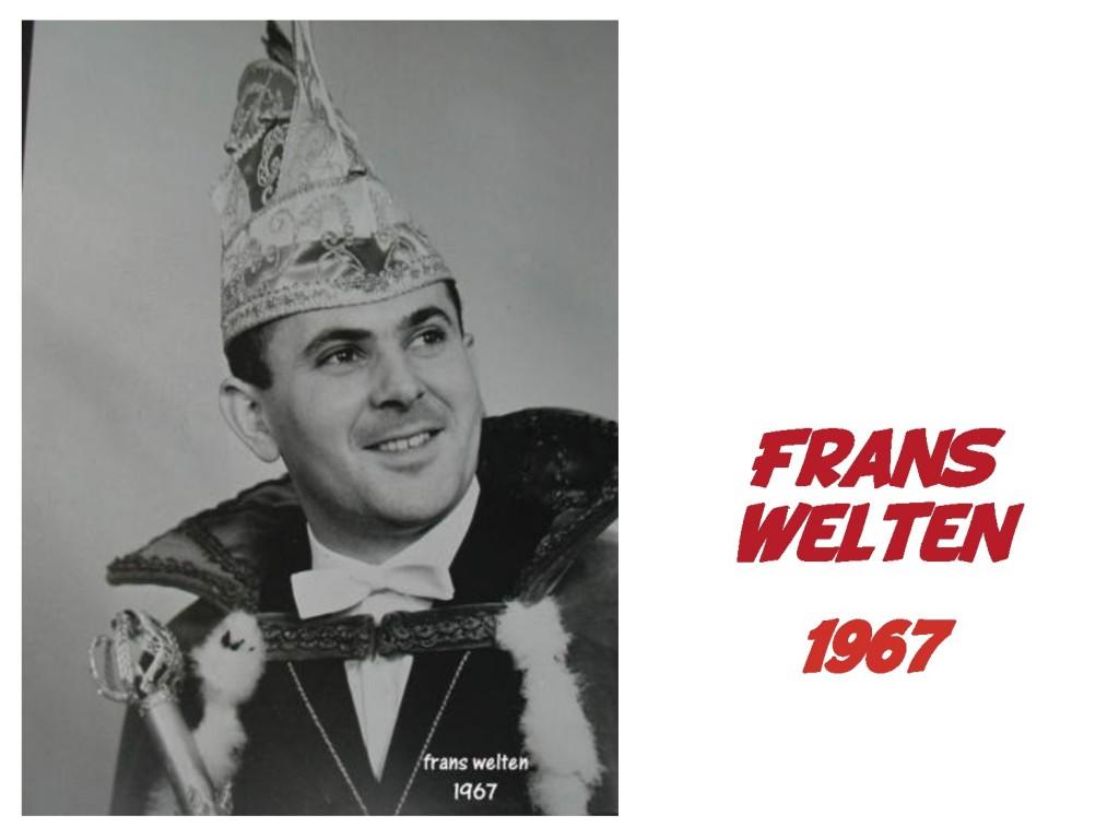 Frans Welten: 1967
