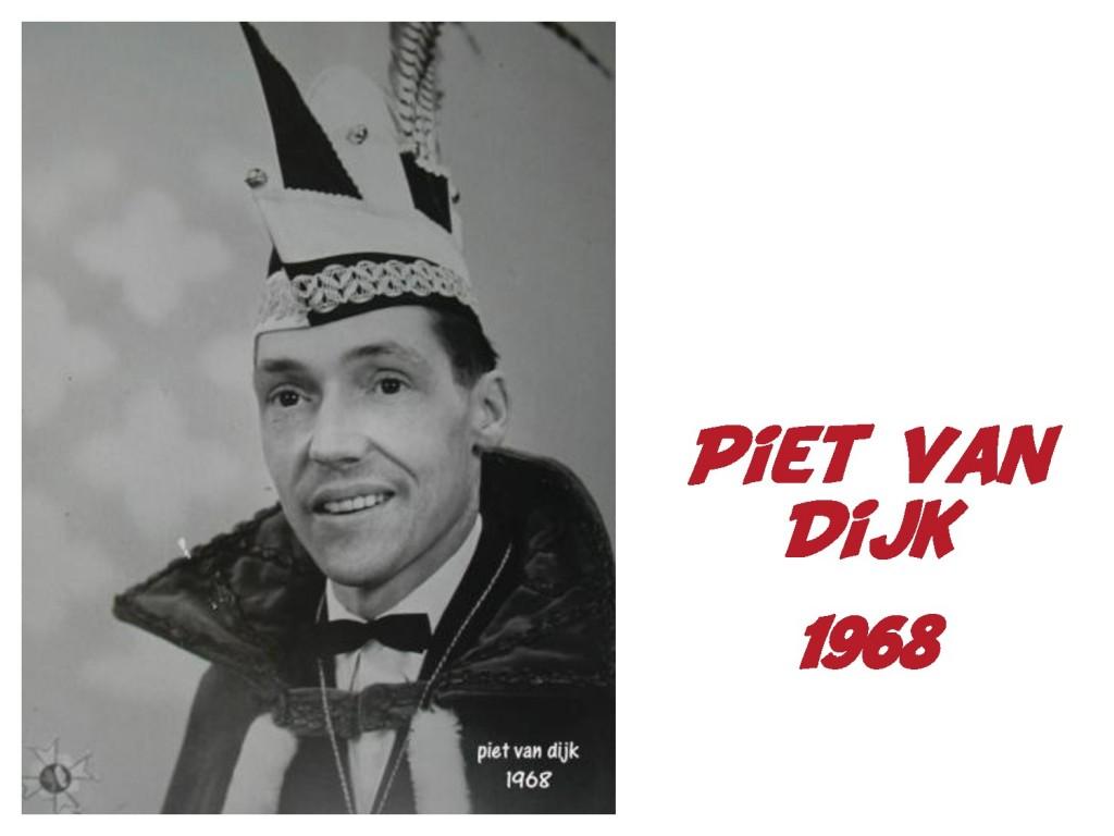 Piet van Dijk: 1968