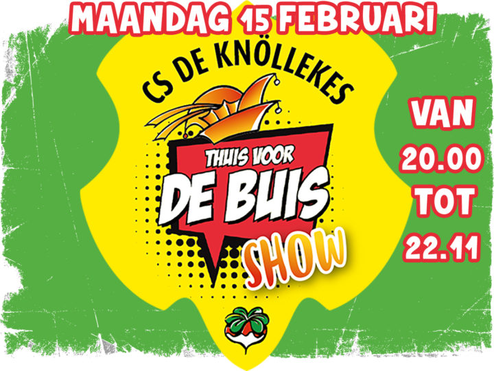 Thuis vd buis show